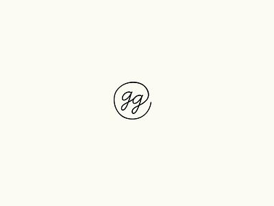 Gianna Grace Photography photographer typography logo identity script monogram design branding