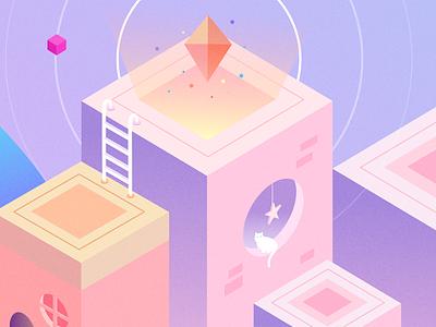 Dream Utopia - part1 illustration