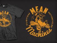 Mean Machines T Graphic