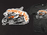 Throttle Roll '14 - Draggin' Lady Tee