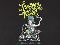 """Throttle Roll """"15 - Hipster Doofus Tee"""