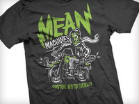 Mean Machines Tshirt - New Collection