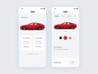 Audi A7 Car Application Concept