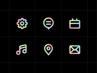 unicorn icons fun icons unicorn minimal ui