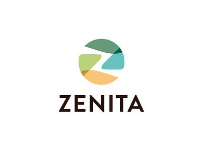 letter z - Fun nature round ui line fun gradient brand logotype design monogram letter minimal logo