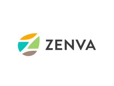 logo Z leaf z line fun gradient brand logotype design monogram letter minimal logo