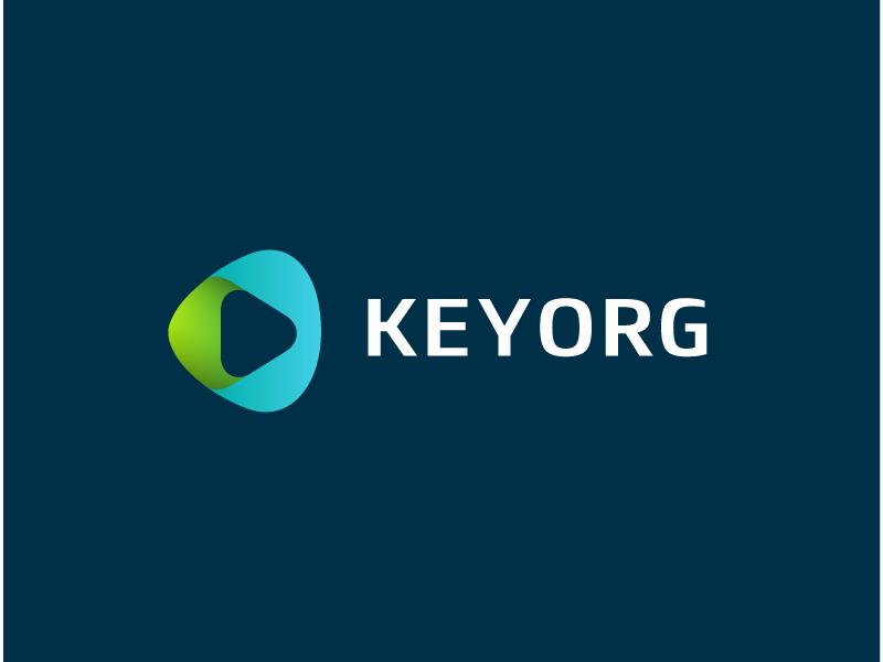 keyorg music gradient curve modern