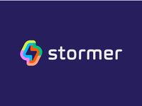 logo stormer - storm