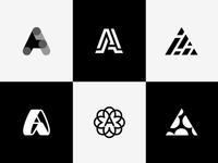 Logo A letter