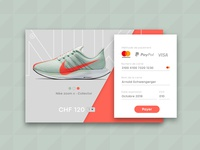 Daily UI: #002 Pay