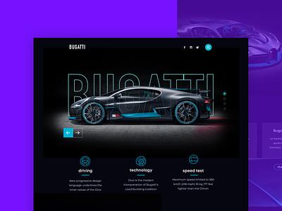 Bugatti webdesign bugatti ux web webdesign ui