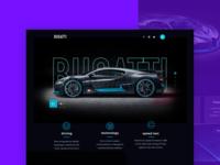 Bugatti webdesign