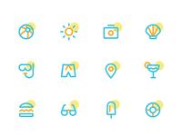Icons Minimal Summer