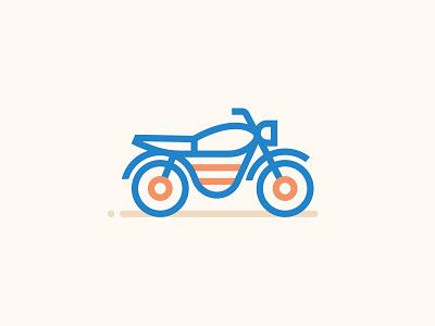 Icons Minimal Moto illustration ui motorbike moto minimal