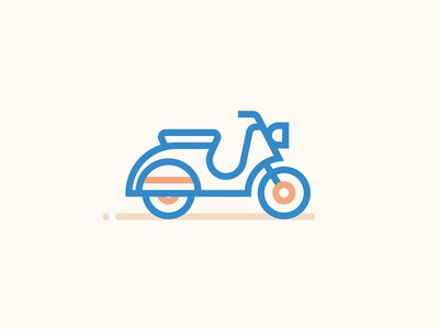 Icons scooter