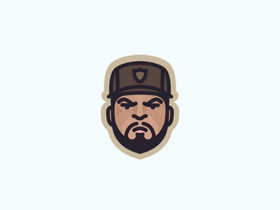 icecube face for fun