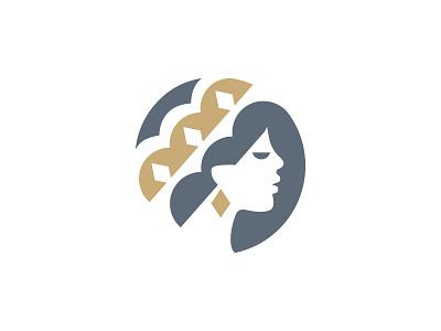 face queen queen face minimal logo