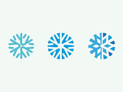 minimal snowflakes winter snowflake minimal logo