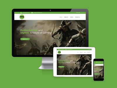 Responsive Website brand branding website ui illustration vector design