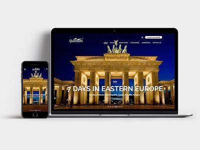 Responsive Website website logo vector brand design