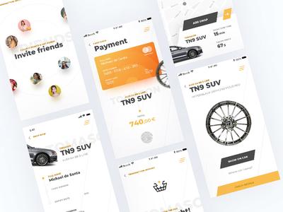 Wheels Shop App