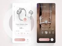 "Pandora App - Ring Size & AR ""Try on"""