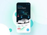 Porsche Car Connect Mobile App Concept