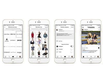 App Vouzzer shop develope ux ui design app