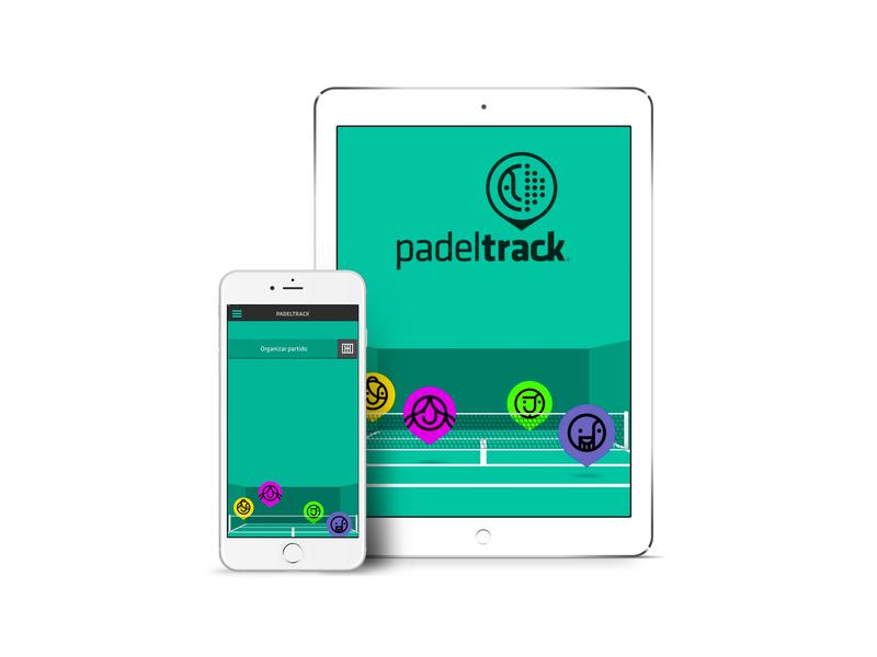 Padeltrack App padel sport app sport developer develope app ux ui design