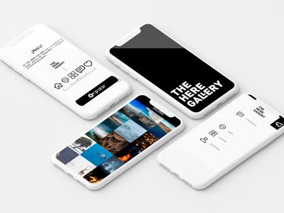 Thehergallery App travel spain background image photo app photo shop developer develope app ux ui design