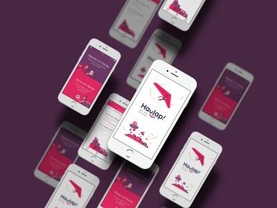 Haulap App reaprto send develope app ux ui design