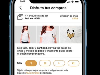 Vouzzer  App moda moda estilo shop developer develope ux app ui design
