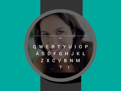 Android Wear Keyboard
