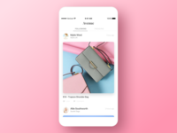 Social Shopping App popular following fashion feed profile ecommerce shopping social
