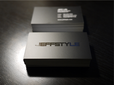 jeffstyle Business Cards