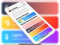 Daily UI - #021 - Home Monitoring Dashboard