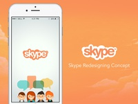 Skype Redesigning Concept