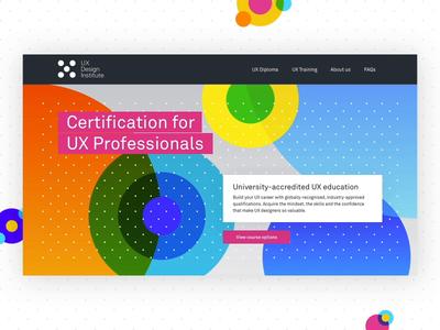 UX Design Institute Homepage