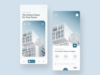 Real Estate App Design slider app slider design best app proerties app properties ui ux design ui designs ui design uiux uidesign app design property design ui real estate app real estate realestate