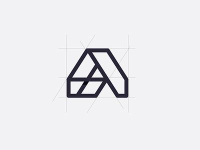 a logo branding brand a letter logo inspirations logodesign logotype logo monogram iconic inspiration design