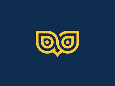 owl art web branding illustration icon inspiration design