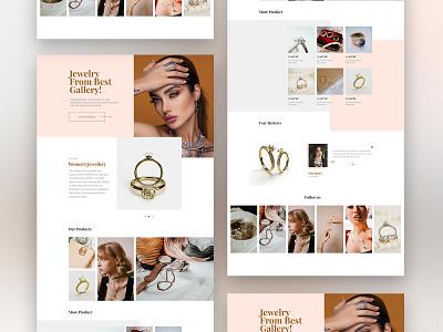 Jewellery web design website inspirations webdesign web ux ui design inspiration
