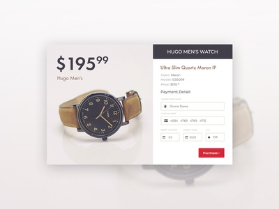 Credit Card Checkout web app typography ux inspiration ui day2 photoshop dailyui design