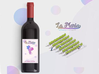 Wine Label La Maria miriani miriani lemonjava miriani lemonjava wine label maria la maria wine