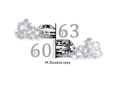 BMW E60/E63 Club Georgia official Sticker