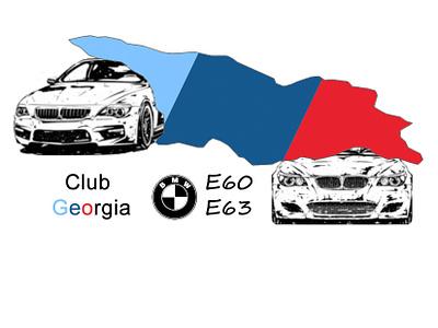 Bmw E60/E63 Club Georgia Official sticker georgia club e63 e60 bmw
