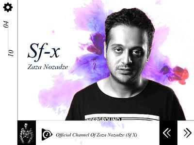 Sf X Page zaza nozadze sf-x wallpaper product design page