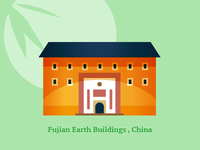 fujian earth building,china,hakka