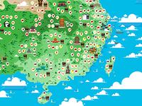 CHINA MAP DESIGN-1