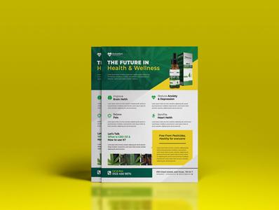 Hemp Product Flyer